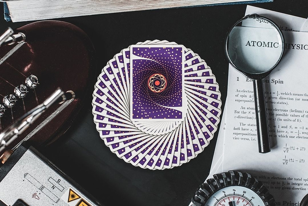 Quantum Playing Cards Deallez Logistic Europe Fulfillment Center