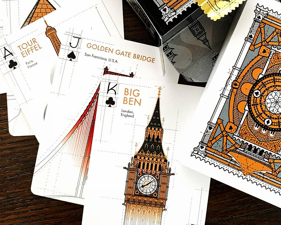 Architecture Playing Cards Bicycle Archi