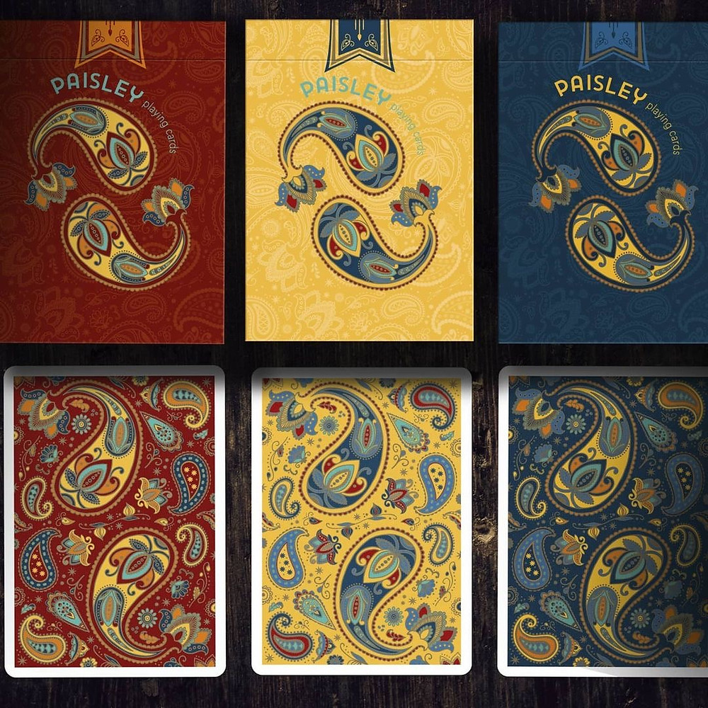 Paisley Poker 3 Playing Cards Deallez Europe Fulfillment
