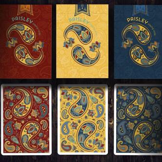 Paisley Poker 3 Playing Cards Deallez Eu