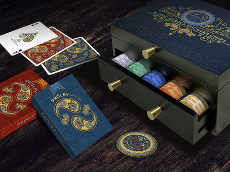 Paisley Poker Playing Cards