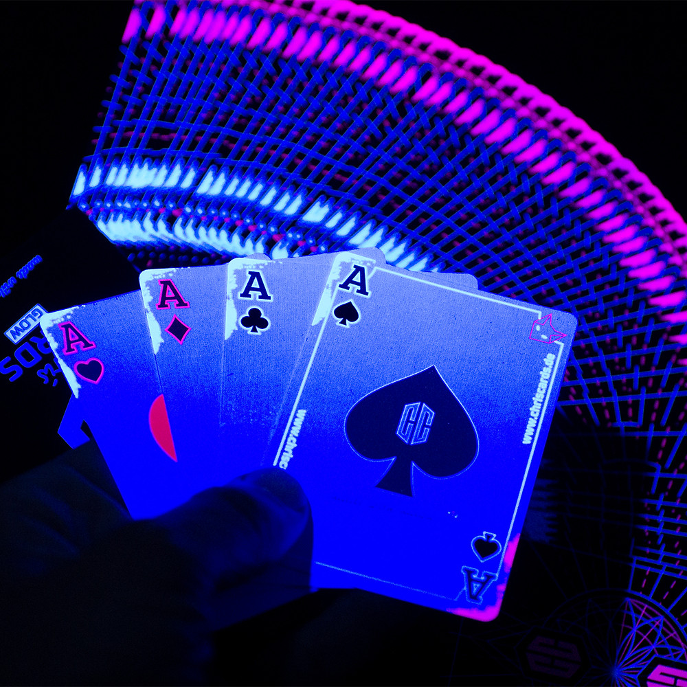 Glow Playing Cards by Chirscards. Deallez Logistic. Your fulfillment partner in Europe