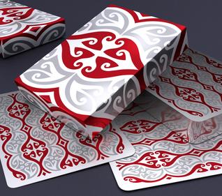 Hello Tiki V3 Playing Cards by Montenzi