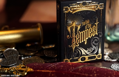 The Tale of the Tempest Playing Cards De