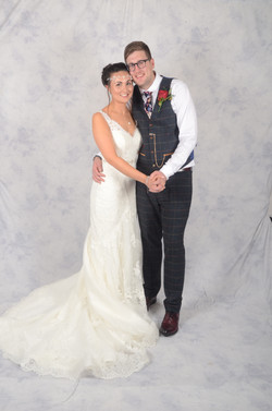 Bride and Groom formal shot