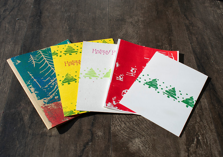 Stamped Holiday Cards
