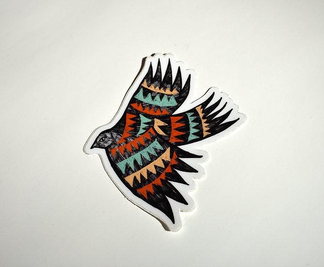 Springbird Sticker