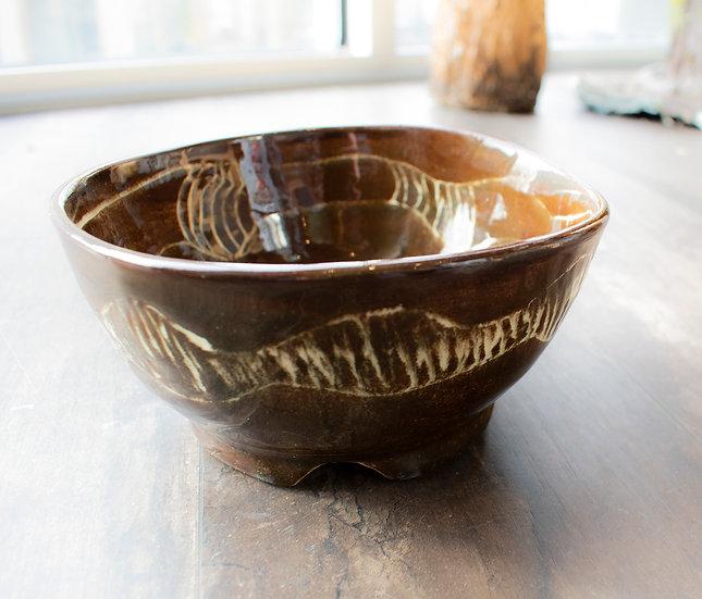 Medium Brown Bowl