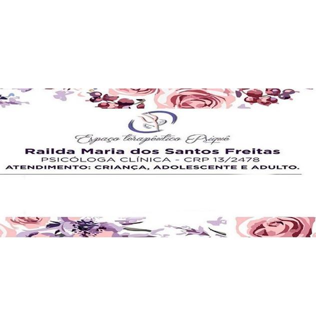 RAILDA MARIA DOS SANTOS FREITAS
