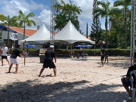 CAA-PB comemora sucesso da clínica de beach tennis realizada neste último sábado (28)