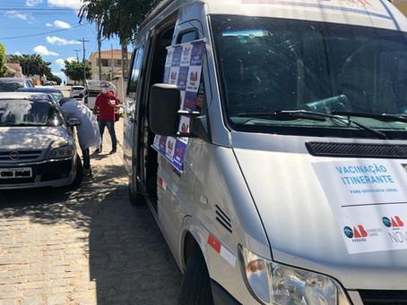 Caravana de Vacinação da CAA-PB imunizará advogados de Soledade, Juazeirinho e CG