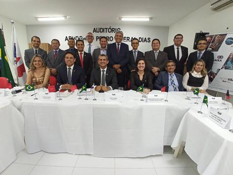 Assis Almeida participa de Colégio de Presidentes e Tesoureiros de Subseções da OAB em Patos