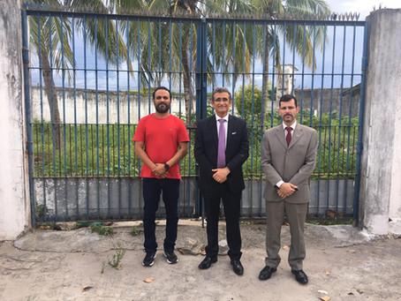 CAA reformará parlatório e construirá estacionamento para advogados no presídio Silvio Porto