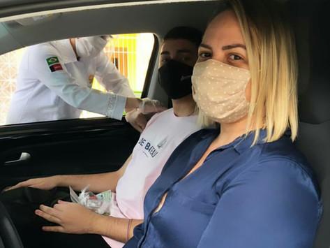 Advogados elogiam organização da campanha de vacinação da CAA de Campina contra gripe