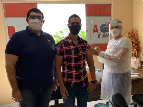 CAA-PB vacina advogados e estagiários das Subseções do Cariri, Patos e Cajazeiras