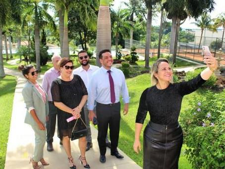 Secretária Geral da CONCAD visita instalações da CASAG onde os jogos nacionais serão realizados