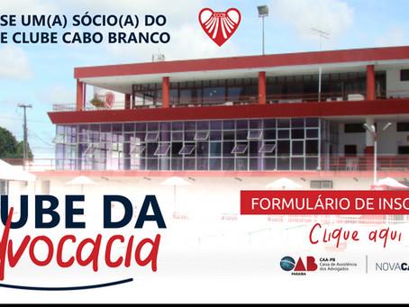 CAA PB disponibiliza formulário online para cadastramento de sócios do clube Cabo Branco