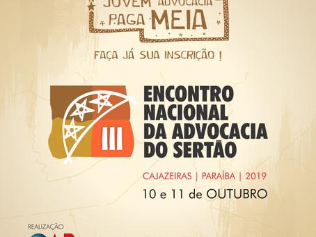 Cajazeiras se transforma na capital nacional da advocacia do Sertão