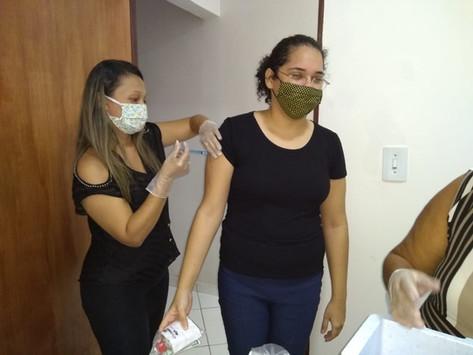 CAA-PB vacina advogados e estagiários das Sub de Guarabira, Princesa Isabel e Vale do Mamanguape