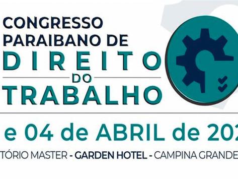Campina Grande sedia I Congresso Paraibano de Direito do Trabalho