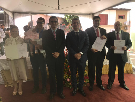 OAB-PB inaugura sede e empossa diretores da Subseção e da CAA do Vale do Mamanguape