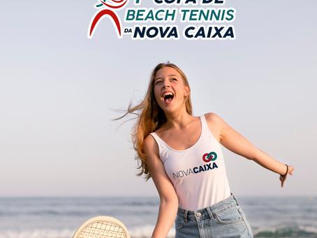 """1° Copa estadual de Beach Tênis que será realizada na Arena """"Alive Beach Club, na capital Paraibana"""