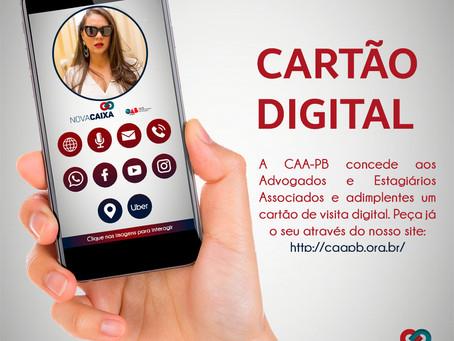 CAA-PB disponibilizará gratuitamente cartão de visita digital e interativo para advogados