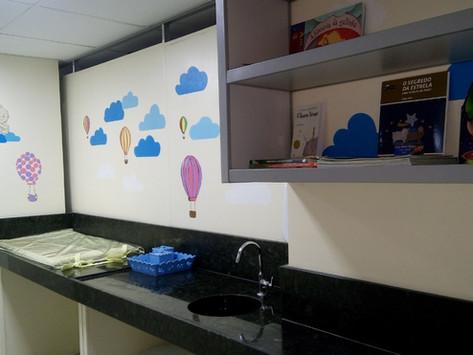 CAA e OAB-PB inauguram espaço de amamentação, fraldário e brinquedoteca no fórum Afonso Campos em CG