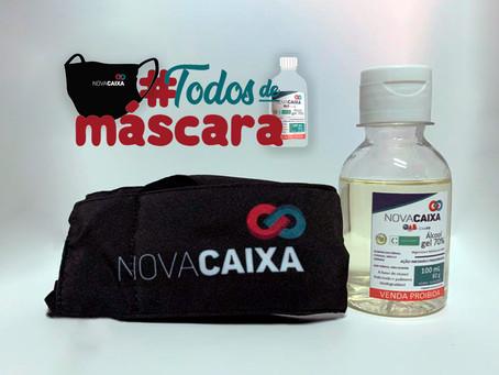 A CAAPB entrega gratuitamente à advocacia paraibana do estado o kit de máscara e álcool em gel