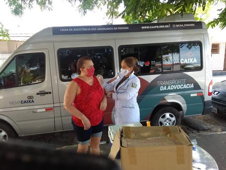 A CAA-PB dá continuidade à Caravana de Vacinação em João Pessoa, entre os dias 09 e 13 de novembro