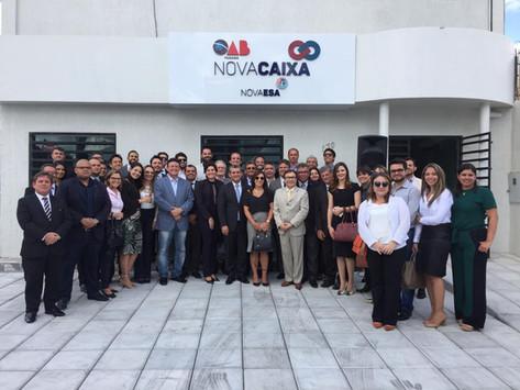 Inauguração da sede da Nova CAA em CG foi marcada por grande entusiasmo de todos os presentes