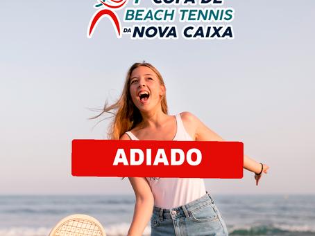 CAA-PB informa adiamento da Copa de Beach Tennis e substituição por clínica do mesmo esporte