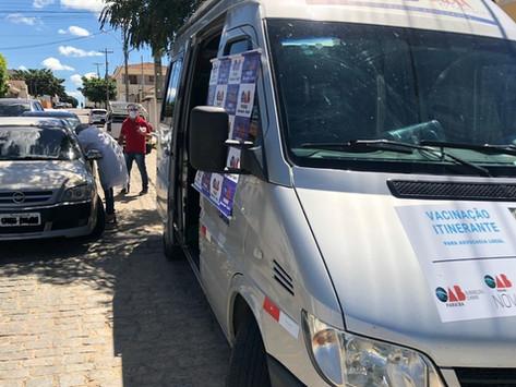Advogados destacam sucesso da Caravana de Vacinação da CAA-PB em cidades do Cariri