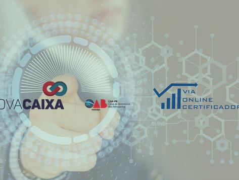 Nova CAA-CG firma parceria com certificadora digital garantindo o menor preço.