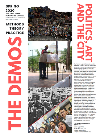 The Demos: Politics, Art, and the City