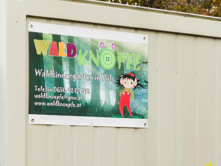Im Einsatz für unsere Kleinsten: Umbau im Waldkindergarten Völs