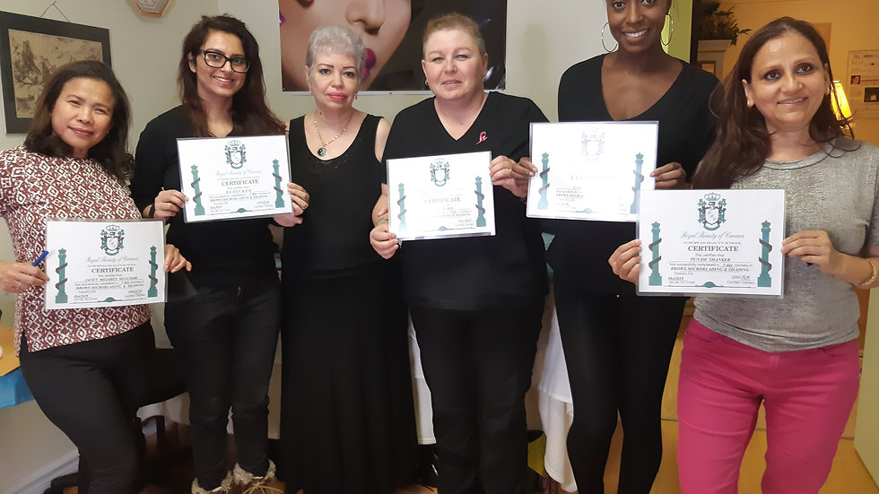 MICROBLADING INSTRUCTOR CERTIFICATE