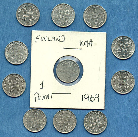 Finland-All-II-dates-1-Penni-1969-throug