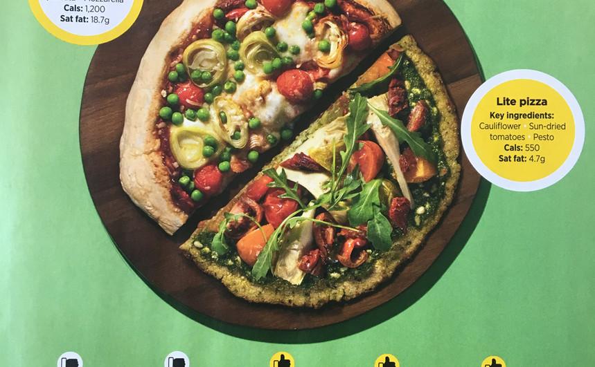 THE CALORIE CUT: PIZZA, Women's Health