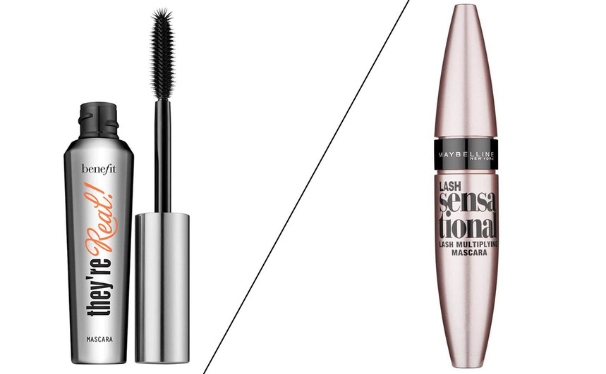Benefit They're Real! vs Maybelline Lash Sensational: does a higher price mean higher-quality mascara?