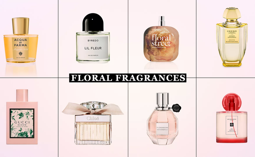 The best flower fragrances for spring that will leave you smelling fresh, not stuffy