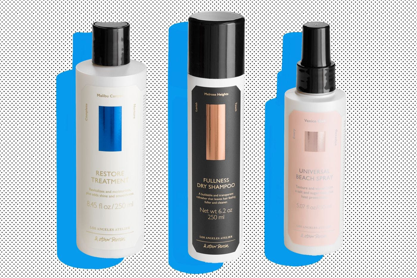 & Other Stories has released a new hair care range that's as covetable as their clothes, Stylist