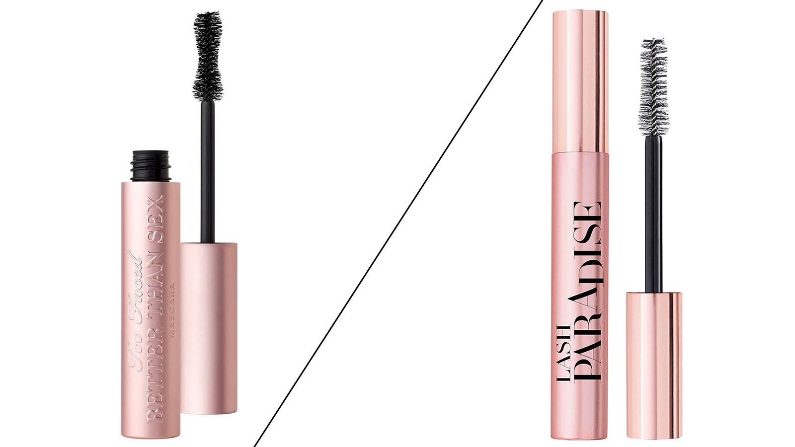 Too Faced Better Than Sex vs L'Oréal Paris Lash Paradise: does budget or blowout take the mascara crown?