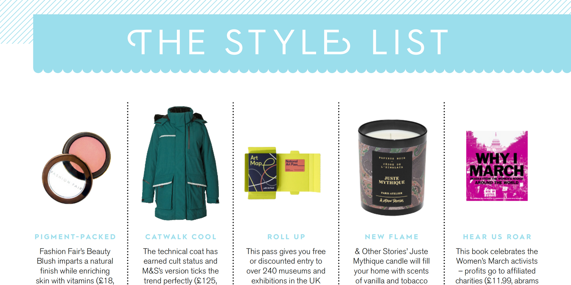 THE STYLE LIST, Stylist issue 396