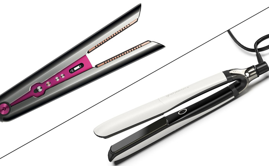 Dyson Corrale vs GHD Platinum+: which high-tech straightener wins out?