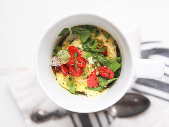 6 MICROWAVE MUG MEALS FOR WHEN YOU'RE COOKING FOR ONE, Women's Health