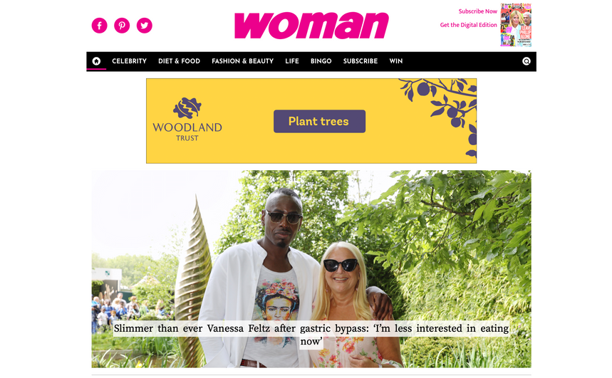 Daily Woman news stories, Woman