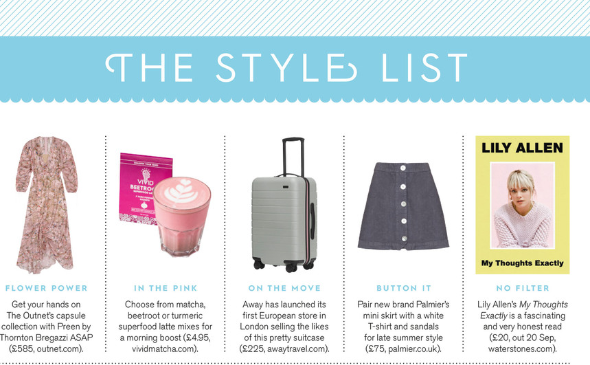 THE STYLE LIST, Stylist issue 433