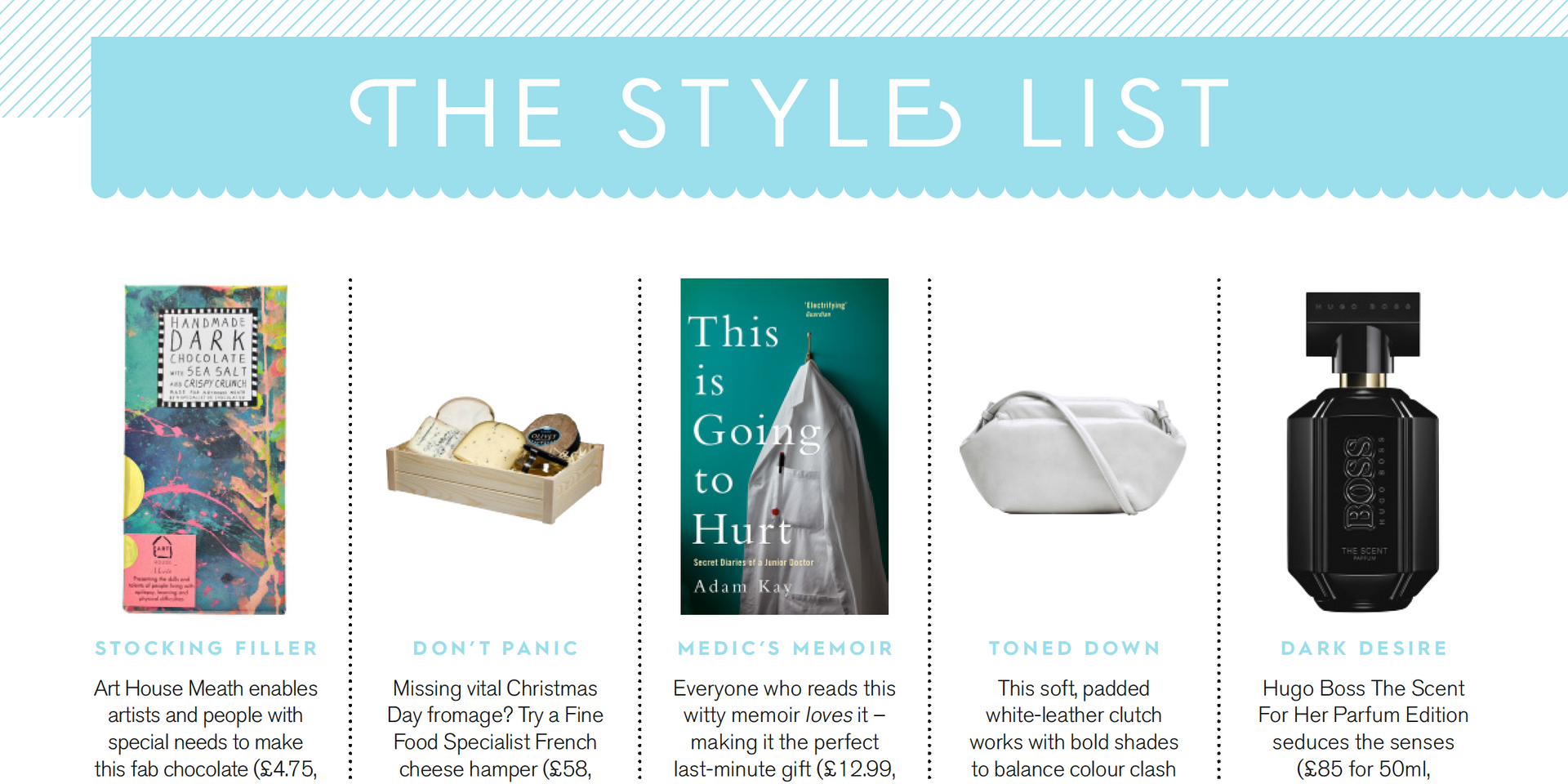 THE STYLE LIST, Stylist issue 397