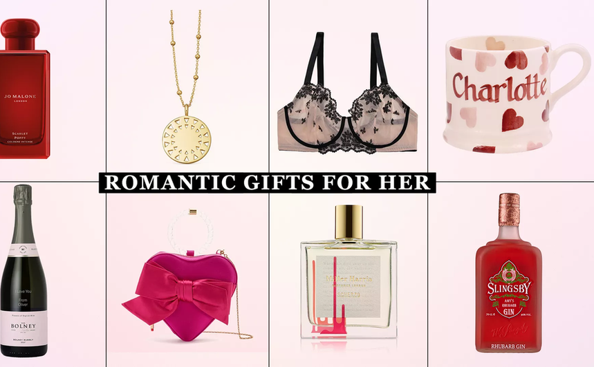 Our edit of the most romantic Valentine's Day gifts for her